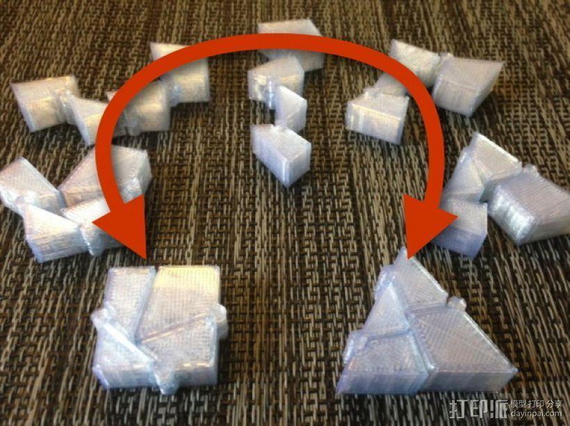 三角块 3D模型  图1