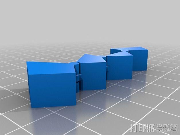 三角块 3D模型  图3
