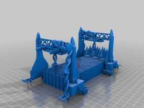 火星屋模型 3D模型