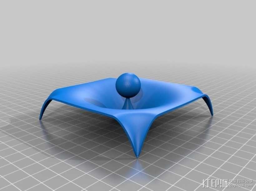 重力 模型 3D模型  图2