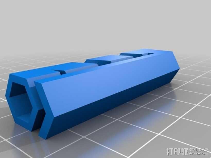 有弹性的盒子 文具用品 3D模型  图2
