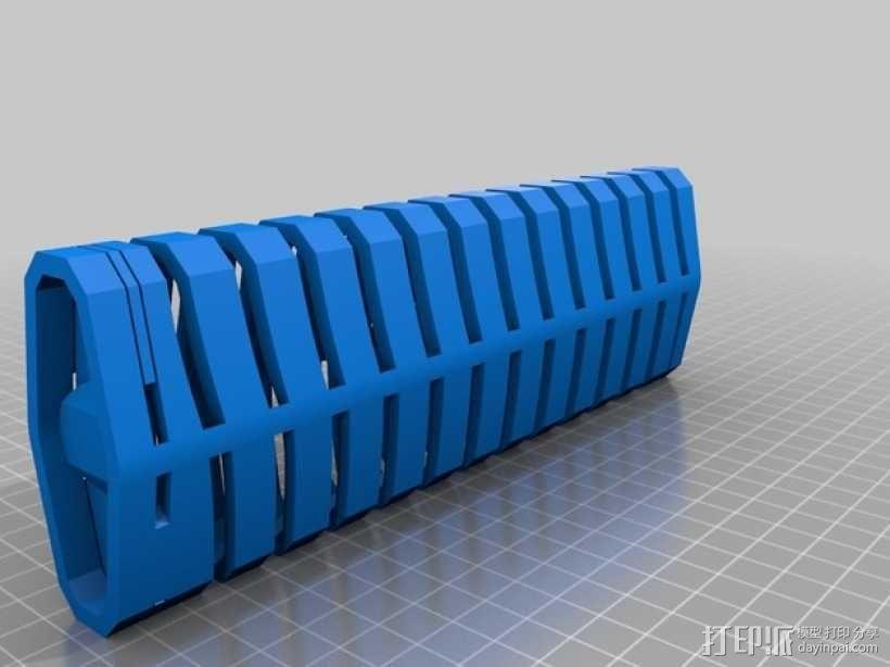 有弹性的盒子 文具用品 3D模型  图4