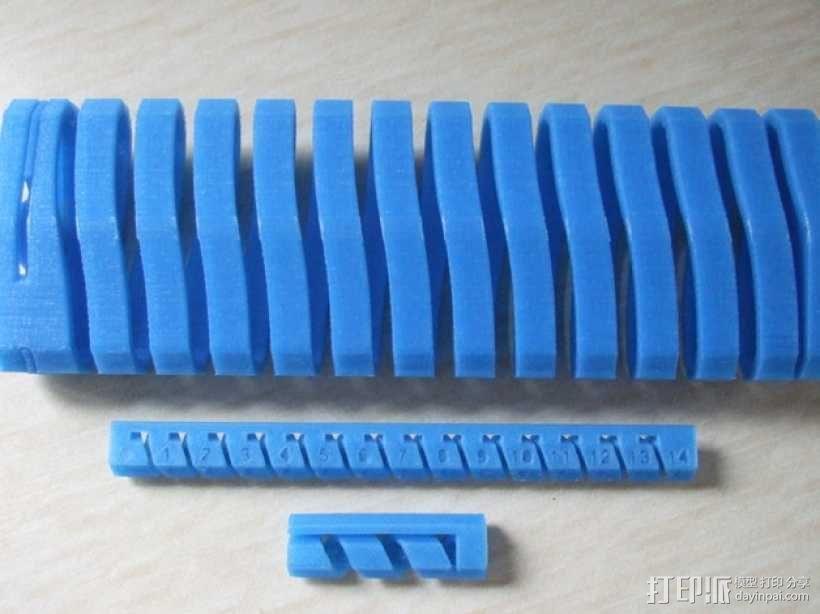 有弹性的盒子 文具用品 3D模型  图6
