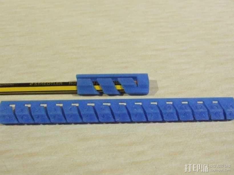 有弹性的盒子 文具用品 3D模型  图10
