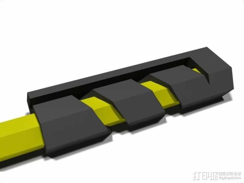 有弹性的盒子 文具用品 3D模型  图15