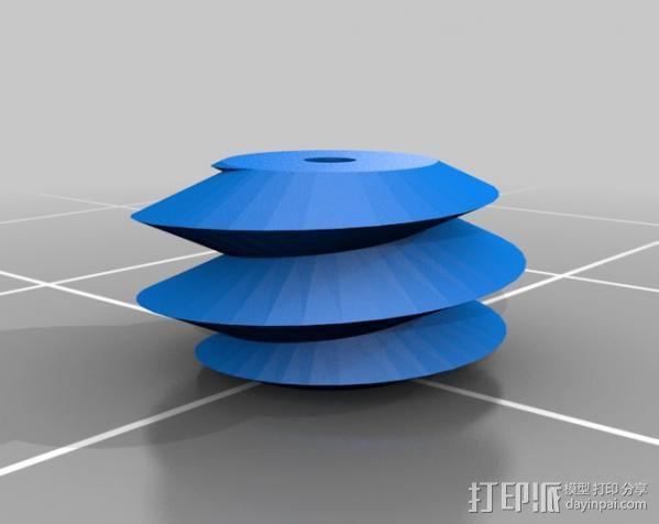 盲文点触设备 3D模型  图6