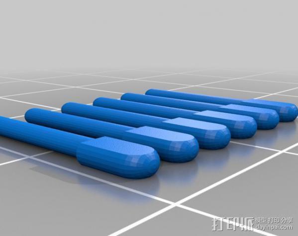 盲文点触设备 3D模型  图7