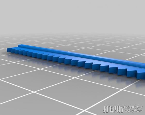 盲文点触设备 3D模型  图8