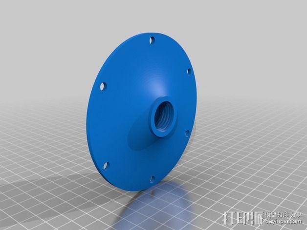 达摩涡轮机配件 3D模型  图3