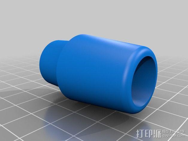 达摩涡轮机配件 3D模型  图4