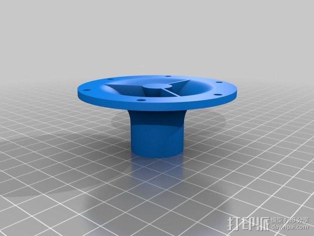 达摩涡轮机配件 3D模型  图5