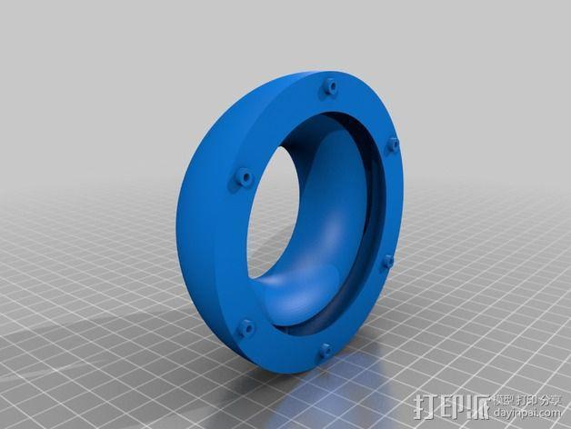 达摩涡轮机配件 3D模型  图6