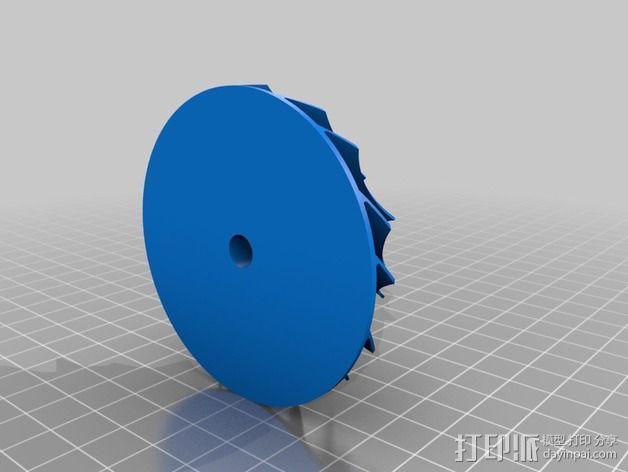达摩涡轮机配件 3D模型  图7