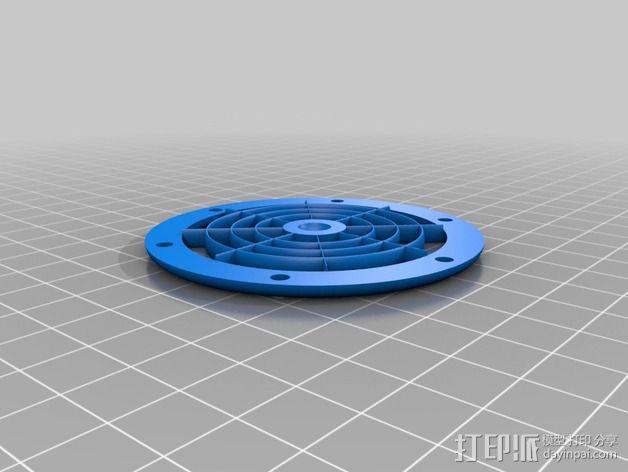 达摩涡轮机配件 3D模型  图8