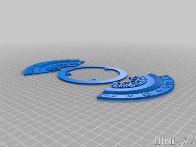 三角函数数学工具 3D模型  图4