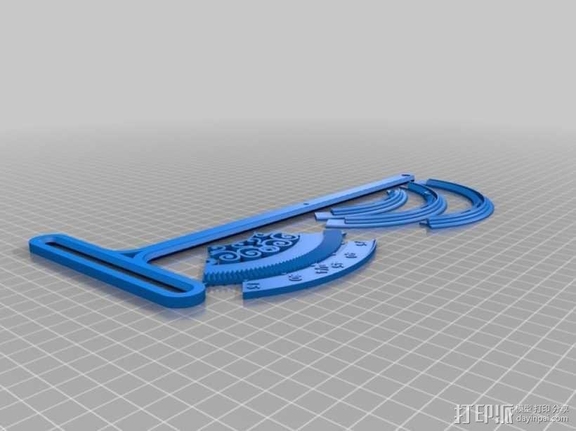 三角函数数学工具 3D模型  图7