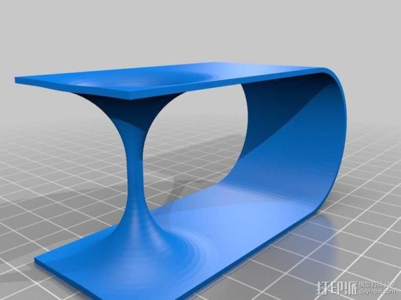 虫洞模型 3D模型  图1