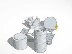哈勃望远镜 模型 3D模型