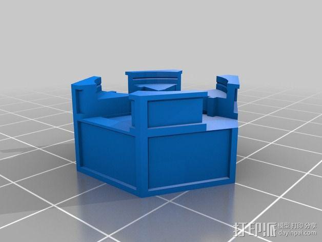 哈勃望远镜 模型 3D模型  图2