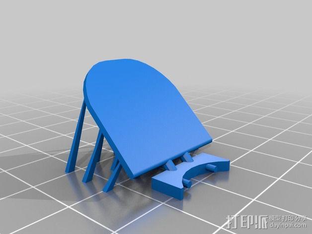 哈勃望远镜 模型 3D模型  图7