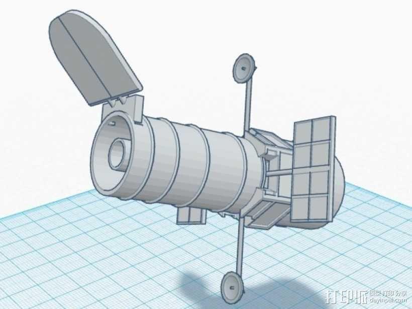 哈勃望远镜 模型 3D模型  图9