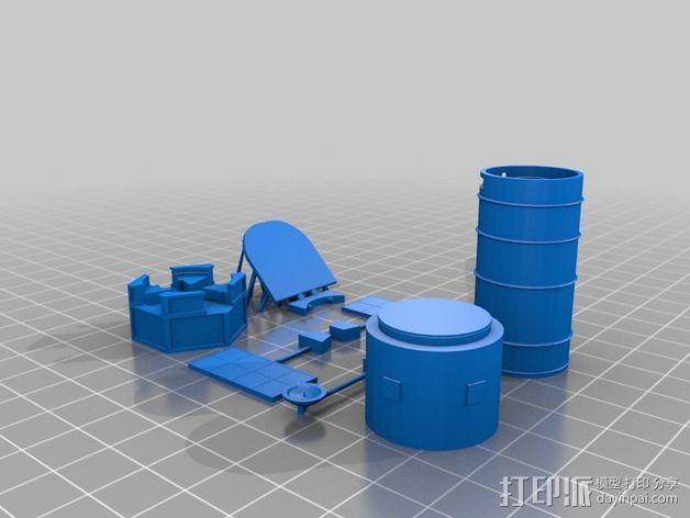 哈勃望远镜 模型 3D模型  图8