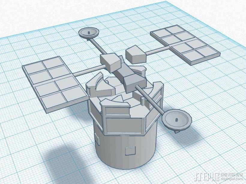 哈勃望远镜 模型 3D模型  图11