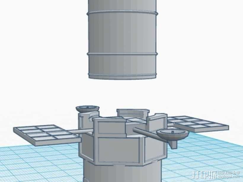 哈勃望远镜 模型 3D模型  图12