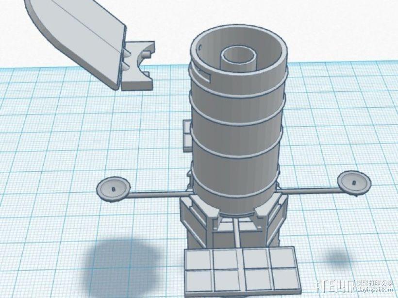哈勃望远镜 模型 3D模型  图13