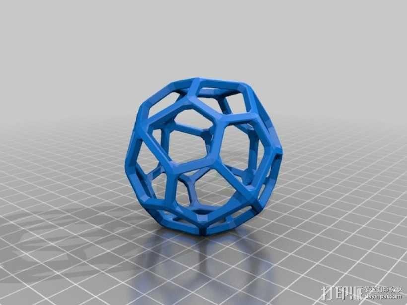 二十四面体 3D模型  图2