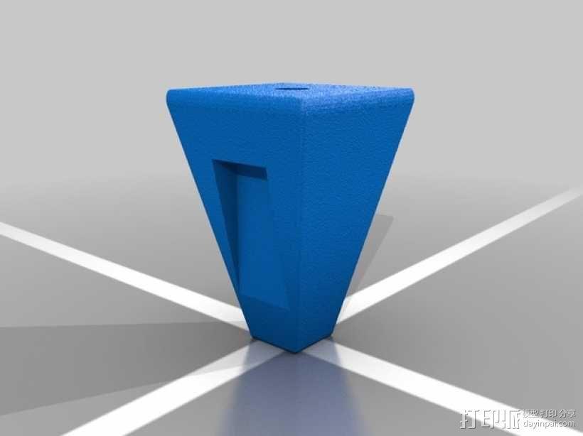 三腔插管打印头 3D模型  图10