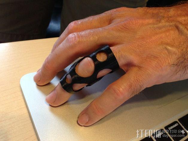 护指 3D模型  图1
