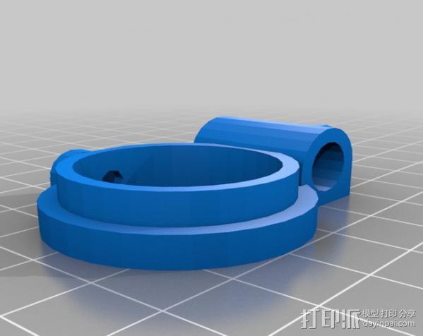 透镜架 3D模型  图2