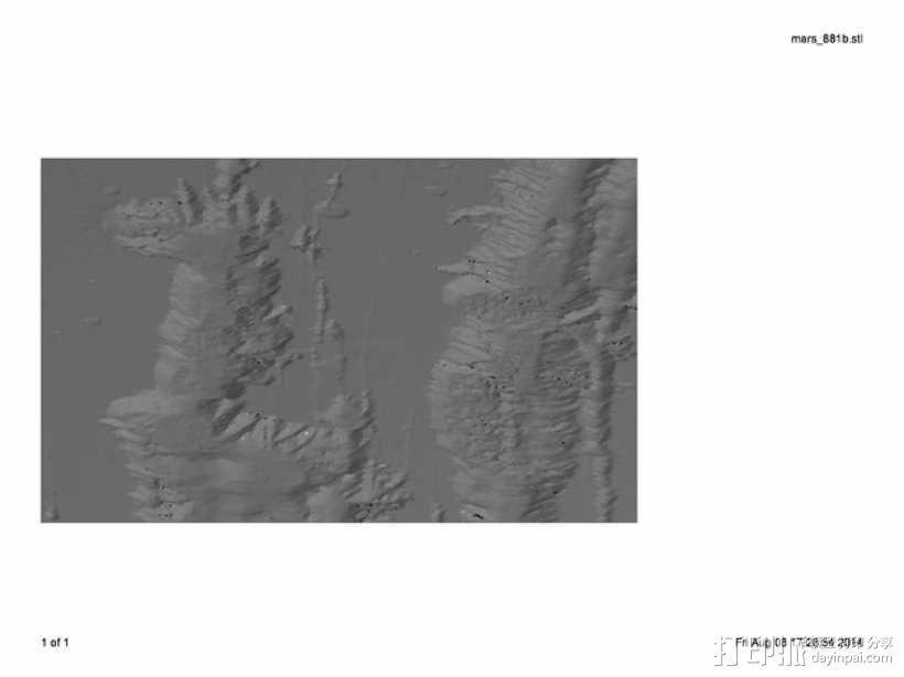 火星 模型 3D模型  图6