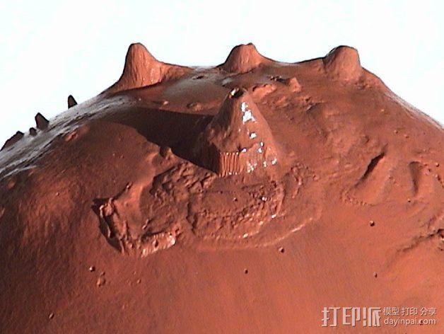 火星 模型 3D模型  图3