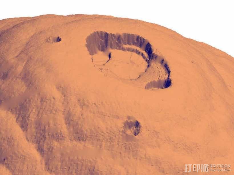 火星 模型 3D模型  图8