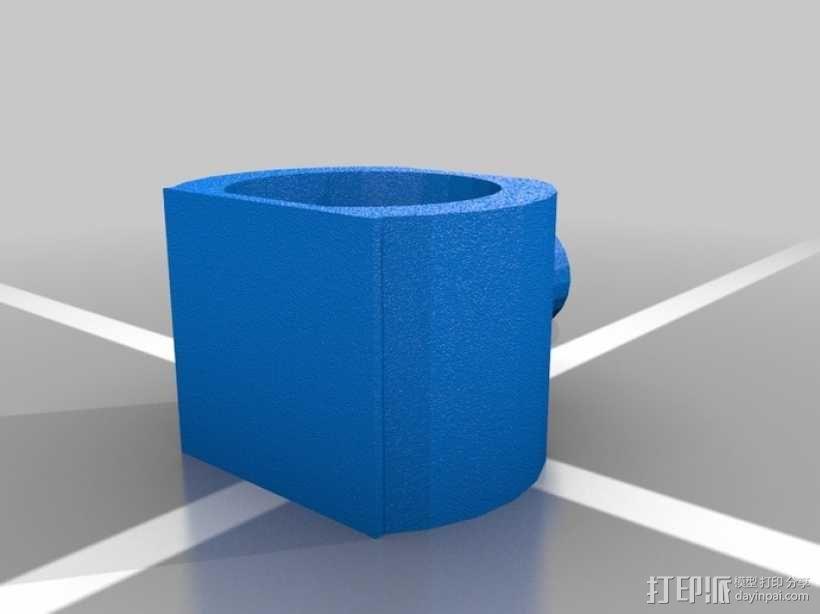 风力涡轮机 底座 3D模型  图4
