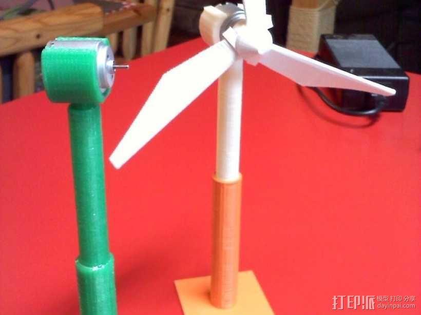 风力涡轮机 底座 3D模型  图6