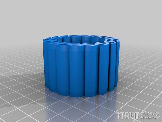 顶尖套 3D模型  图2