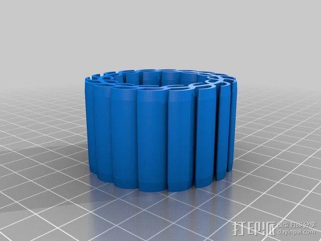 顶尖套 3D模型  图3