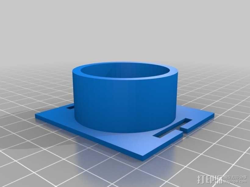 照相适配器 3D模型  图2