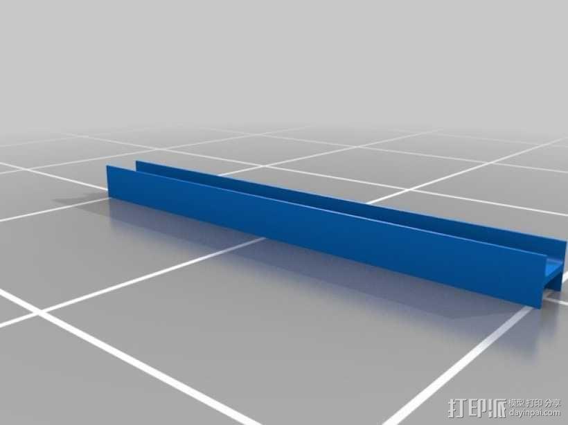横梁 3D模型  图1