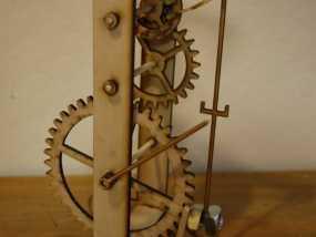 伽利略摆钟 3D模型
