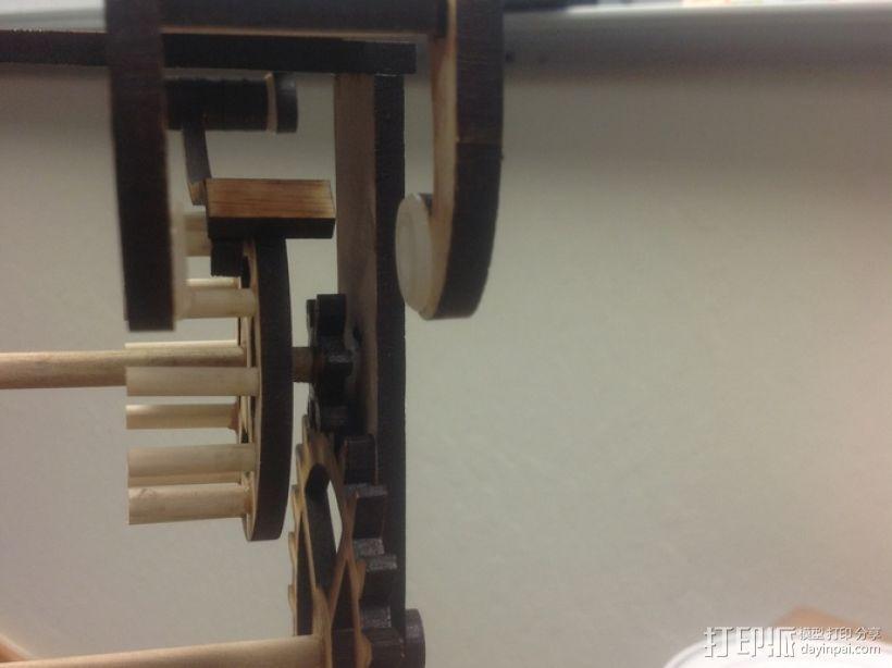 伽利略摆钟 3D模型  图5
