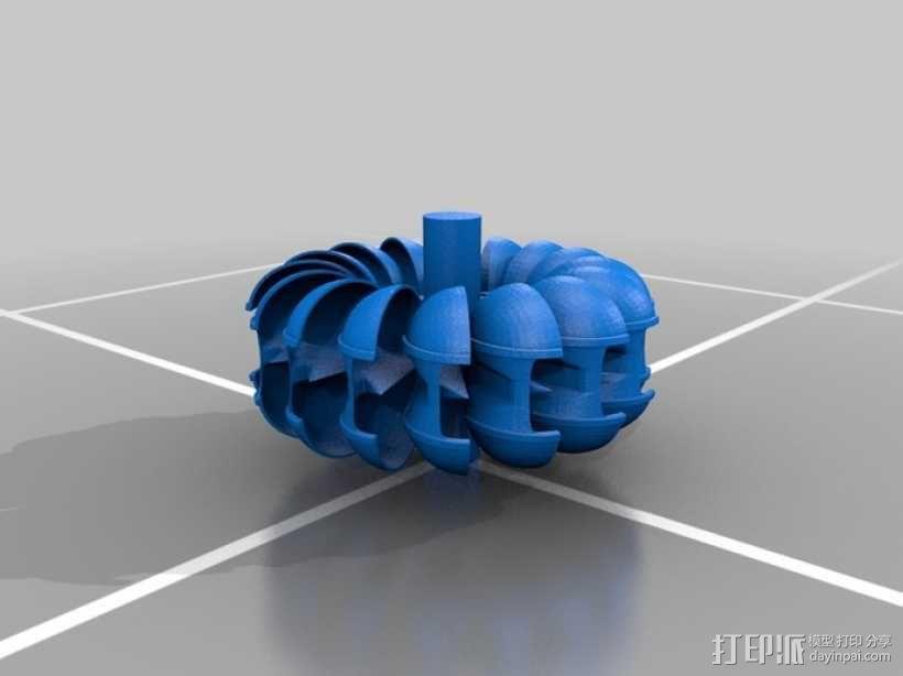 水轮机 3D模型  图2