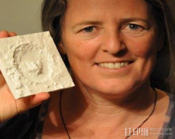 火星陨坑 模型 3D模型  图5