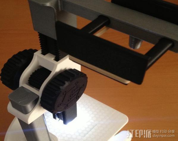 智能手机显微适配器 3D模型  图3