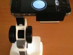 智能手机显微适配器 3D模型
