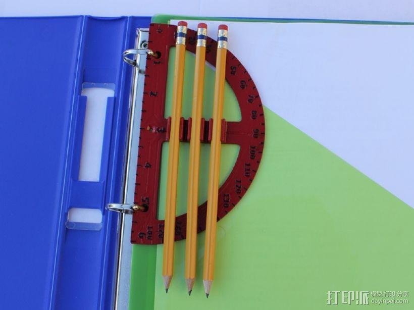 量角器 3D模型  图6
