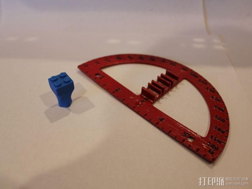 量角器 3D模型  图5